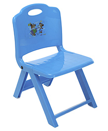 Foldable Baby Chair With In Built Handle - Blue