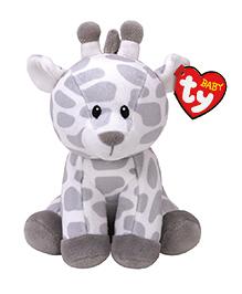 Jungly World Giraffe Soft Toy White & Grey - 15 Cm
