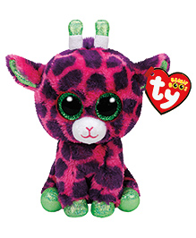 Jungly World Giraffe Soft Toy Multicolour - 15 Cm