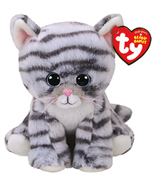 Jungly World Kitty Soft Toy Grey - Height 15 Cm