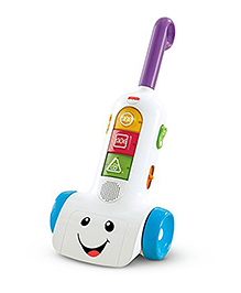 Fisher Price Space Saver Vacuum - Multi Color