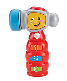 Fisher Price Laugh And Learn Tap N Learn Hammer - Multi Color