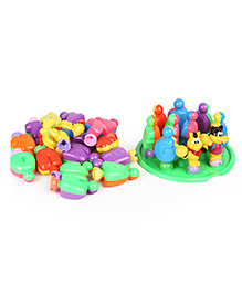 Dr. Toy Learning Blocks Alphabets Multicolour - Pack Of 30 Pieces