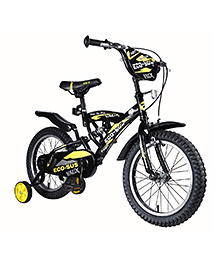 Vaux Eco-Sus Kids Sports Bicycle Black - 16 Inches
