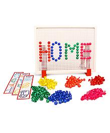 RK's Creative Peg Mosaic Kit - 250 Plus Pieces