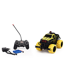 Dr. Toy RC Car With Charger - Yellow Black