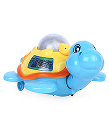 Dr. Toy Battery Operated Turtle - Blue