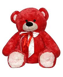 Soft Buddies Teddy Bear Soft Toy Red - 40 Cm