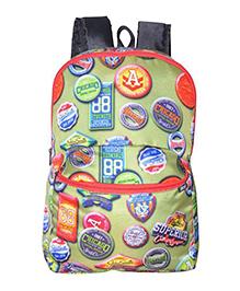 Avon Bags Waterproof School Bag Green - Bag Height 16 Inches