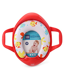 Mee Mee Soft Cushioned Potty Seat With Support Handles - Red