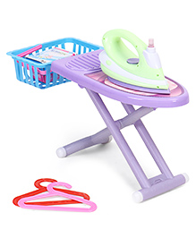 Smiles Creation Mini Appliance Ironing Set Multicolour - Pack Of 8 Pieces