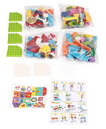Smiles Creation Block Set Multicolour - Pack Of 130 Pieces
