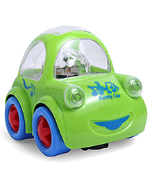 Smiles Creation Musical Toy Car With Light Effect - Green
