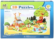 Fab N Funky – Intellectual 3 D Puzzle Summer Season Set