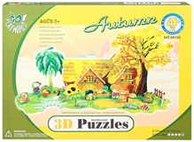 Fab N Funky – Intellectual 3 D Puzzle Autumn Season Set