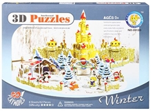 Fab N Funky – Intellectual 3 D Puzzle Winter Season Set