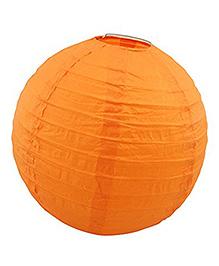 Amfin Round Paper Lampshade - Orange
