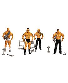 Toyshine WWE Action Figure Set Multicolour - Pack Of 8