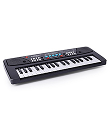 Dr.Toy Music Piano With Mic - Black