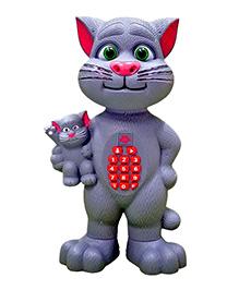 Toyshine Battery Operated Talking Tom Mimicry Toy - Grey
