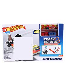 Hot Wheels Rapid Launcher X10 Track Builder Set - Red
