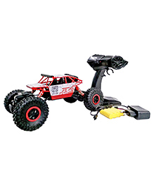 Curtis Toys Remote Control Rock Crawler - Red & White