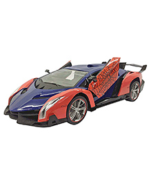 Curtis Toys Spider Man Remote Control Car - Red & Blue