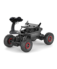 Curtis Toys Remote Control Monster Truck - Black & Red