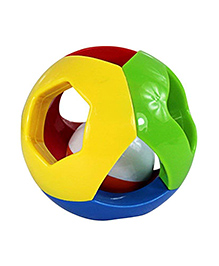 Curtis Toys Rattle Ball - Multicolour