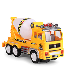 Dr. Toy Concrete Mixer Truck - Yellow