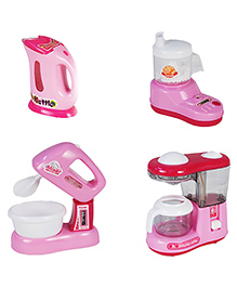 Toyhouse Mini Appliance Set Pink - Pack Of 4