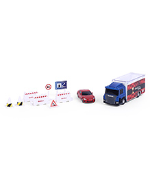 RMZ Scania Truck Launcher With Toyota 86 - Blue & Red
