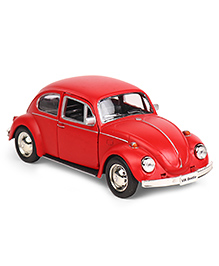 RMZ Pull Back Volkswagen Beetle Car Toy - Matte Red