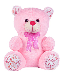 Ultra Candy Teddy Bear Soft Toy Pink - Height 14 Inches