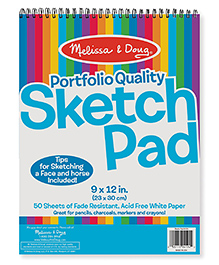 Melissa & Doug Sketch Pad White - 50 Sheets