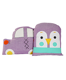 Gift Booth Cars Cushion Set Purple - Pack Of 2