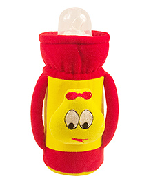 Ole Baby Feeding Bottle Cover With Handles Red - 500 Ml