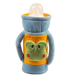 Ole Baby Feeding Bottle Cover With Handles Blue - 500 Ml - 2224265