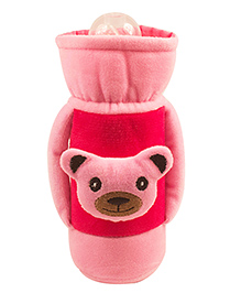 Ole Baby Feeding Bottle Cover With Handle Pink - 500 Ml