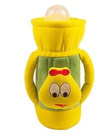 Ole Baby Feeding Bottle Cover With Handles Yellow - 500 Ml