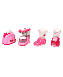Mini Appliance Set Pink - Pack Of 4