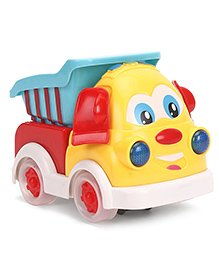 Construction Postal Toy Truck - Blue & White