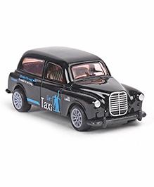 Vintage Metal Toy Car Get Taxi Design - Black