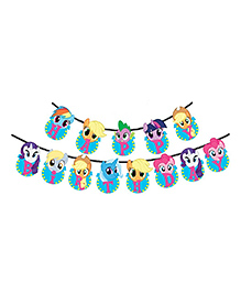 Party Propz My Little Pony Birthday Banner Decoration For Girls - No.of Pieces 13