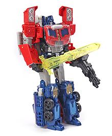 Transformers Titan Returns Optimus Prime Figure Red & Blue - Height 25.5 Cm
