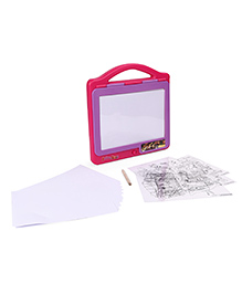 Masha And The Bear Tablet Illuminating Doodle Board - Pink