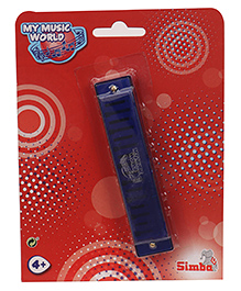 Simba My Music World Harmonica Toy - Blue