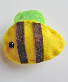 Milonee Bee Design Hair Clip - Yellow