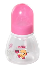 Farlin Wide Base Feeding Bottle 150 Ml (Color May Vary)