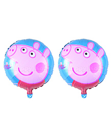 Party Propz Peppa Pig Balloons Blue - Pack Of 2